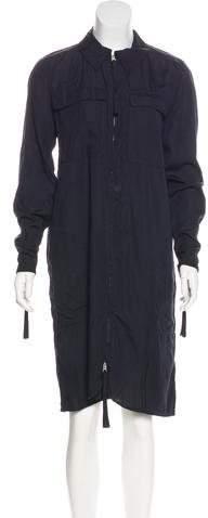 Acne Studios Long Sleeve Midi Dress