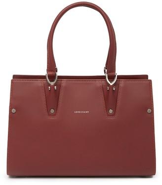 Longchamp Paris Premier Leather Satchel