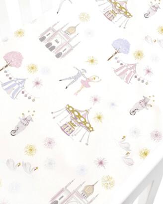 Gooselings Adventures in Wonderland Crib Sheet