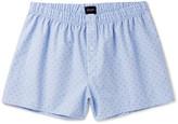 Hanro - Checked Cotton-jacquard Boxer Shorts