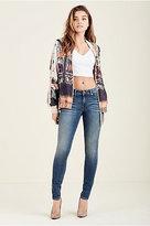 True Religion Jennie Curvy Super Skinny Womens Jean