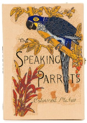 Olympia Le-Tan The Speaking Parrots book-clutch