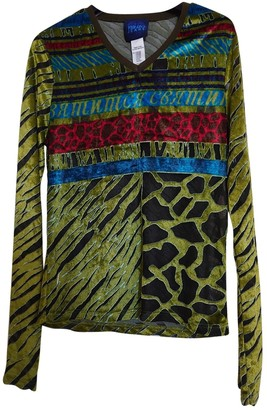 Kenzo Green Velvet Top for Women Vintage