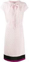 Stella McCartney monogram print dress