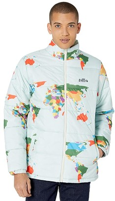 Vans Save Our Planet Puff Jacket (Blue Save Our Planet) Men's Clothing