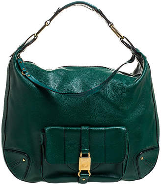 Marc Jacobs Green Leather Courtney Hobo