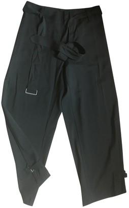 Jean Paul Gaultier Black Wool Trousers