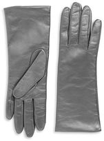 "Lord & Taylor Cashmere-Lined 10.75"" Leather Gloves"