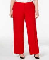 Calvin Klein Plus Size Wide-Leg Pants