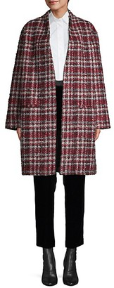 IRO Twisted Tweed Check Coat