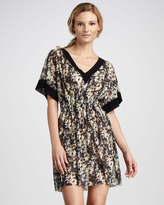 Jean Paul Gaultier Daisy-Print Dress Coverup