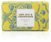 David Jones Lime Zest & Cedarwood Soap