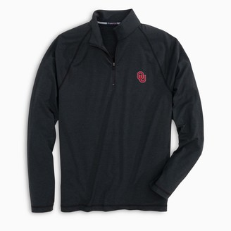 Southern Tide Oklahoma Sooners Lightweight Quarter Zip Pullover