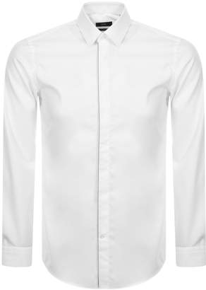 HUGO BOSS Boss Business Long Sleeved Jivan Shirt White