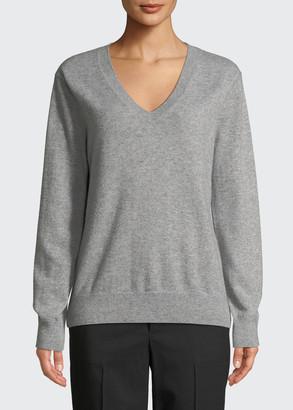 Vince Weekend V-Neck Cashmere Pullover Sweater