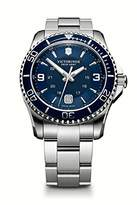 Victorinox Men's 241602 Maverick Watch with Blue Dial and Stainless Steel Bracelet