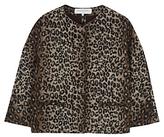 Gerard Darel Opera Leopard Print Jacket, Camel