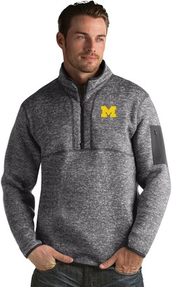 Antigua Men's Michigan Wolverines Fortune Pullover