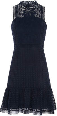 Whistles Flo Embroidered Dress