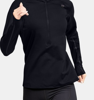 Under Armour Women's UA RUSH ColdGear Run Zip