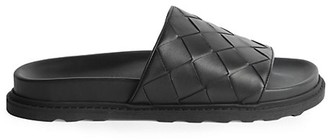 Bottega Veneta Woven Leather Slides