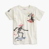 J.Crew Boys' tattoo embroidery T-shirt