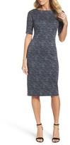Maggy London Women's Tweed Sheath Dress