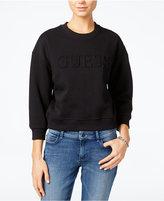 GUESS Originals Cropped Logo Sweatshirt