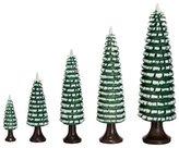 Rudolphs Schatzkiste Marigold ringed tree tree green/white 12 cm ore mountains NEW