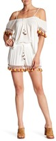 Band of Gypsies High Waisted Tassel Trim Shorts
