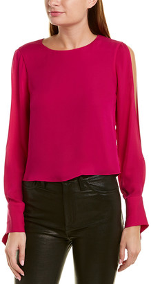 Ramy Brook Addy Silk Top