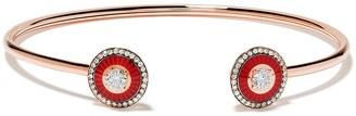 Selim Mouzannar 18kt rose gold diamond Mina bracelet