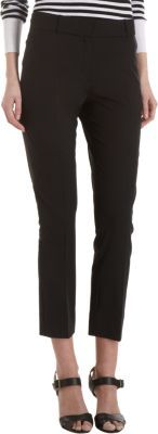 Barneys New York Cropped Classic Trousers