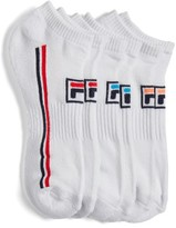 Fila Women's 3-Pack Logo No-Show Socks