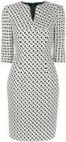 Talbot Runhof Goslar dress - women - Polyamide/Polyester/Acetate/Polyacrylic - 36