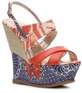 London Rebel Cayenne Wedge Sandal
