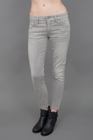 Gold Sign Glam Jeans Grey