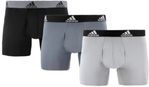adidas Men's 3-Pk. ClimaLite Trunks