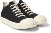 Rick Owens - Drkshdw Rubber-trimmed Silk-faille Sneakers
