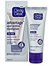Clean & Clear Advantage Spot Control Moisturizer, Oil-Free, 40ml/1.35oz + FREE Assorted Purse Kit/Cosmetic Bag Bonus Gift