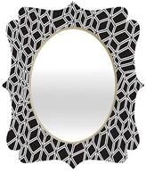 DENY Designs Decorative Wall Mirror Black