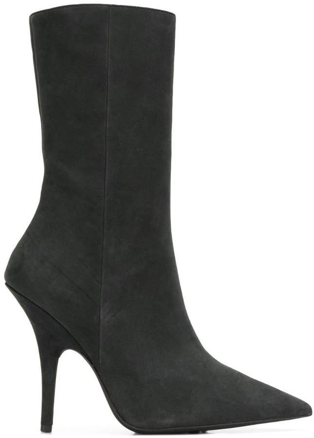 Yeezy slim fit stiletto boots