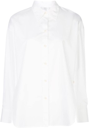 Vince Pointed Collar Shirt