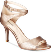 Alfani Women's Ginnii Ankle-Strap Dress Sandals, Only at Macy's