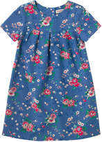 Cath Kidston Trailing Rose Girls Pleated Dress