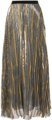 Giambattista Valli All-Over Print Skirt