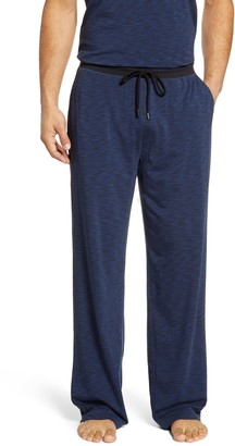 Daniel Buchler Space Dye Stretch Cotton & Modal Pajama Pants