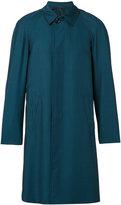 Pal Zileri button-down coat - men - Cupro/Mohair/Wool - 46