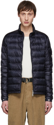 Moncler Navy Down Lambot Jacket