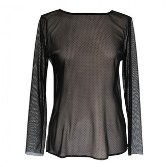 Anthony Vaccarello Black Polyester Knitwear